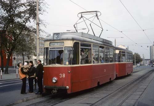 Triebwagen 38 Frankfurt (Oder)