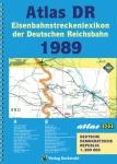 Atlas DR Eisenbahnstreckenlexikon der Deutschen Reichsbahn 1989