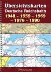Übersichtskarten Deutsche Reichsbahn 1948-1959-1969-1976-1990