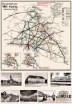 Deutsche Reichsbahn Übersichtskarte Danzig 1944
