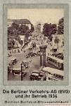 Die Berliner Verkehrs-AG (BVG) und ihr Betrieb 1934