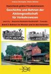 Geschichte und Bahnen der Aktiengesellschaft für Verkehrswesen Lenz & Co., Deutsche Eisenbahn-Gesellschaft, Transdev Band 2: Bahnen im Westen und in den Kolonien